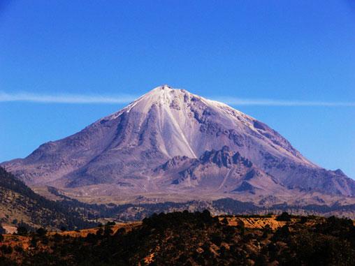 Volcán Pico de Orizaba.