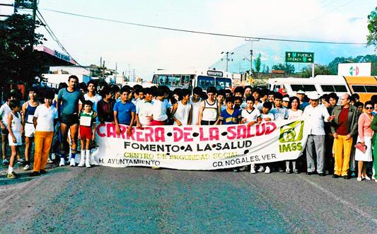 Carrera de la Salud en los años 80, Municipio de Nogales Veracruz