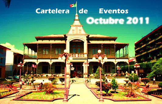Cartelera de Eventos de la Ciudad de Orizaba, Veracruz.