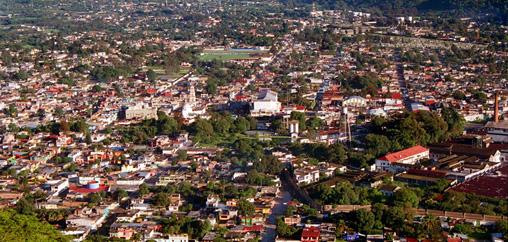 Ciudad Mendoza Veracruz, toma aérea