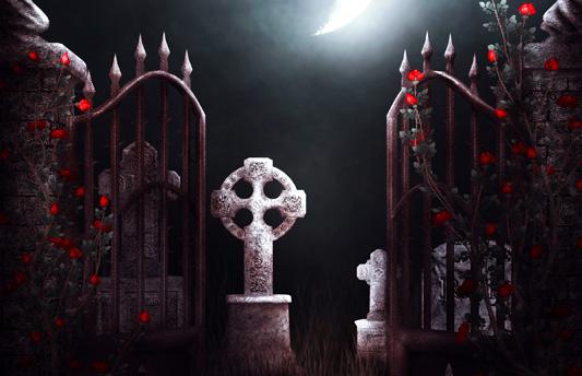 Leyenda dentro del cementerio Juan de la Luz Enriquez