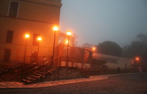 La niebla en la ciudad de Orizaba