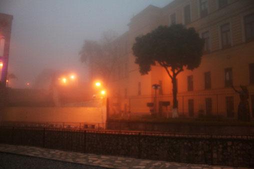 Neblina en Orizaba