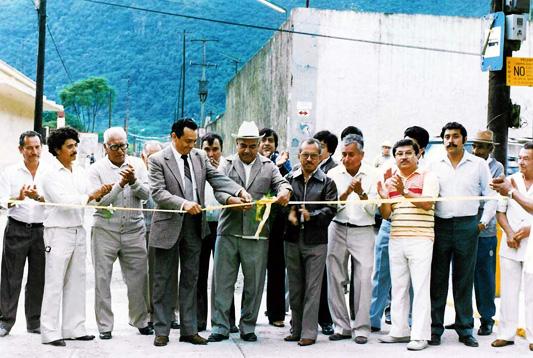 Inauguración de la calle Lerdo de Nogales, Veracruz