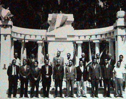 Antiguo cabildo de Cd. Mendoza en la alameda del Municipio.