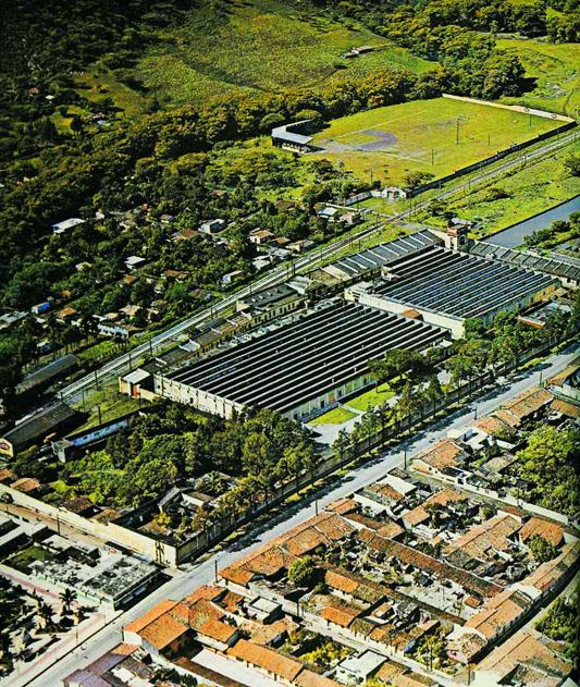 Fabrica San Lorenzo de Nogales Veracruz en los años 60.
