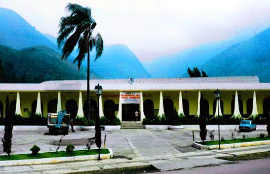 Palacio Municipal de Nogales Veracruz, a mediados de los años 70.